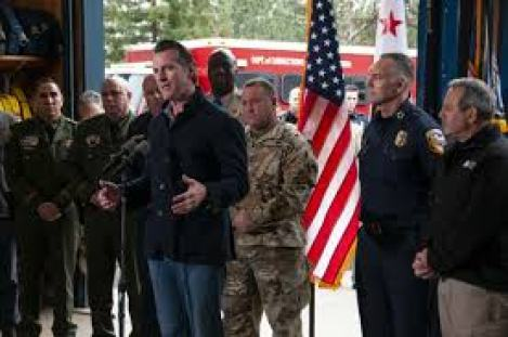 Newsom announces new funding for wildfires, proposes 911 fee