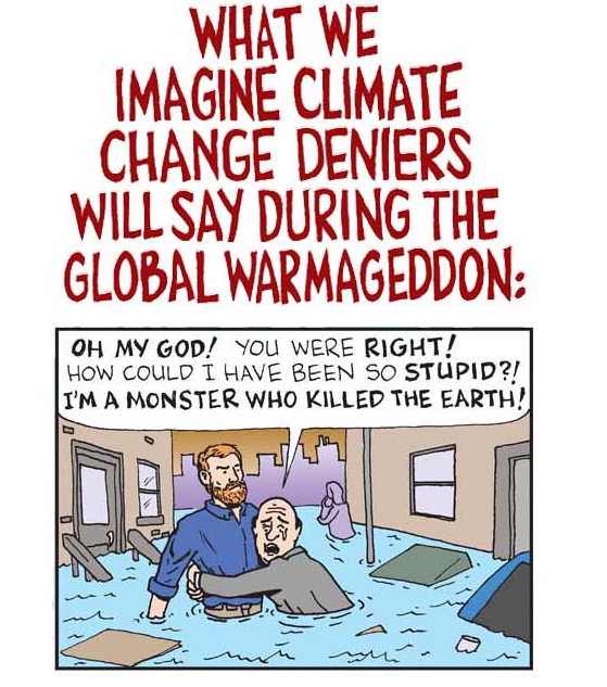 Climate Deniers. They'll keep arguing no matter what | by Cassandra | Medium